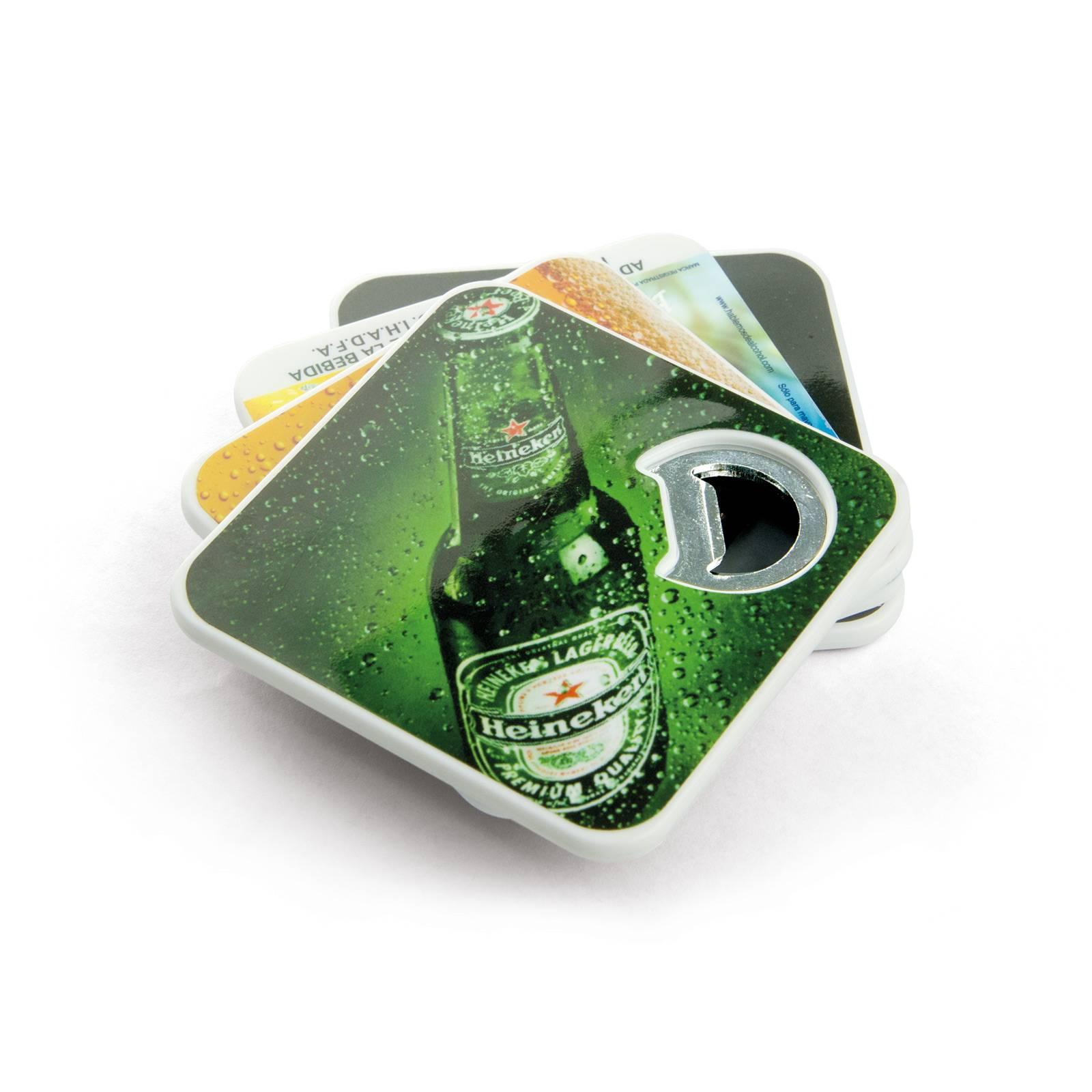Bottle Opener Coasters