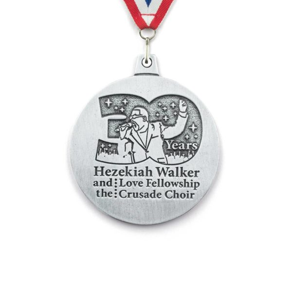 Solid Pewter Medals