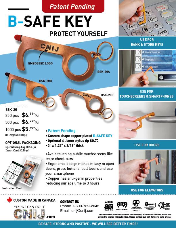 B-SAFE Key Chain