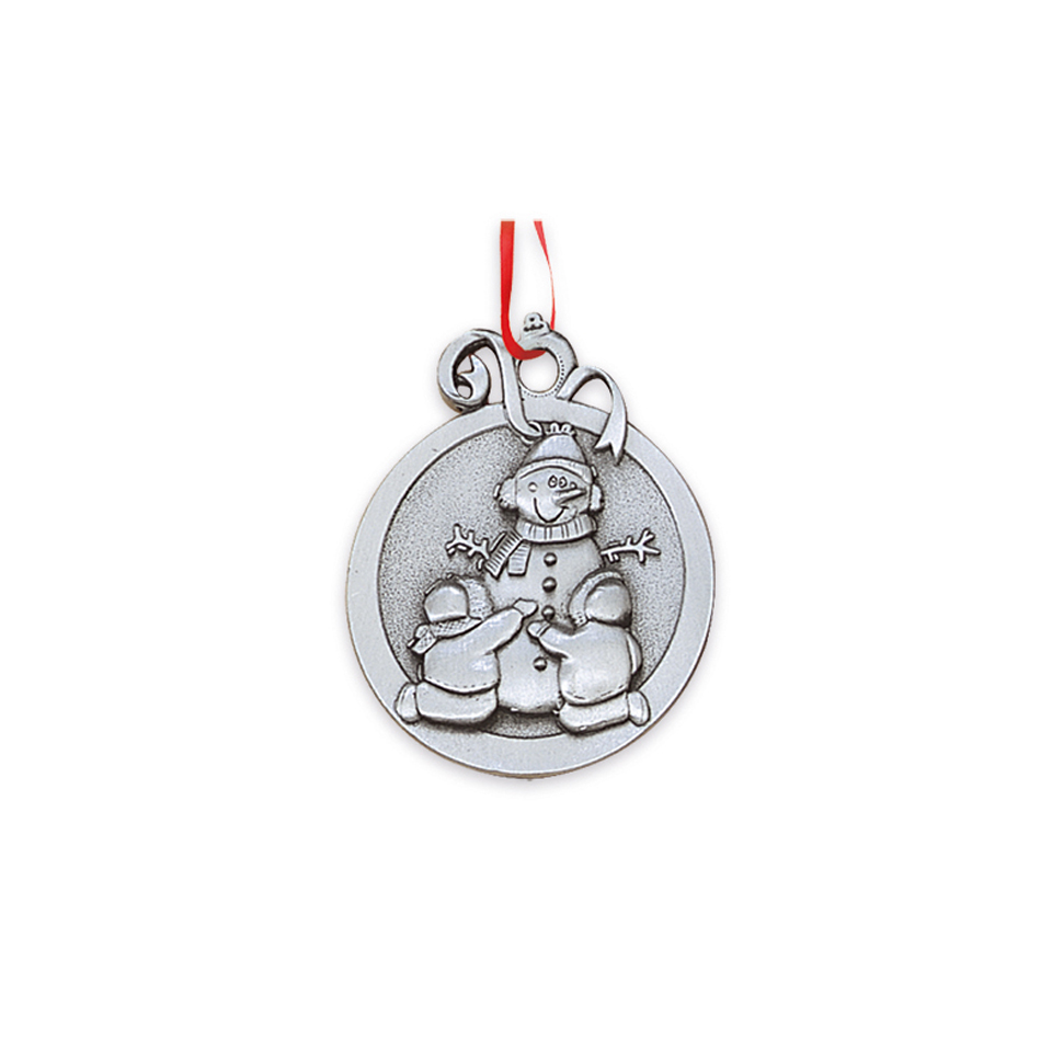 3D Pewter Ornaments